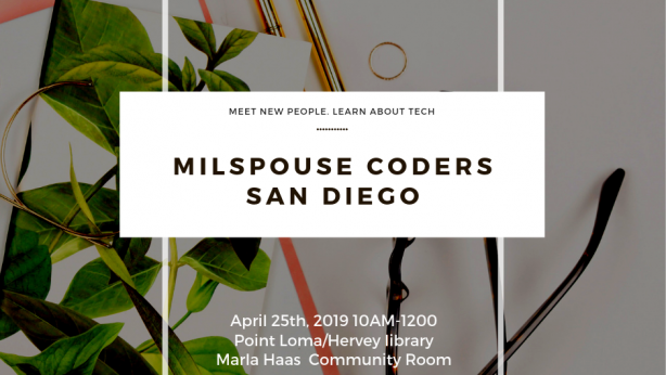 MilSpouse Coders USO San Diego Liberty Station Meetup